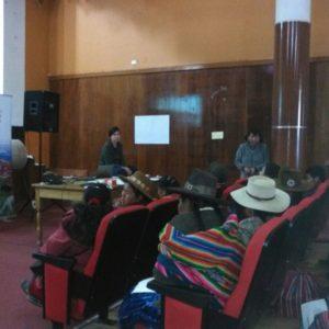 MUJERES ARTESANAS CO-CREAN JUNTAS PLAN PARA EL ABORDAJE COMERCIAL EN SICUANI