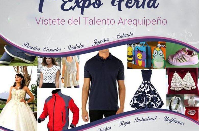 "FONDOEMPLEO Y ASPEM INVITAN A VISITAR LA I EXPO-FERIA ""VÍSTETE DEL TALENTO AREQUIPEÑO"""